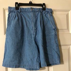 Women's Talbots jean shorts